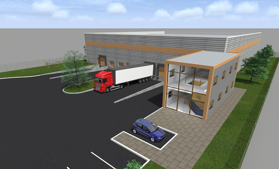 Bien connu Gauthier architecture: Bureaux, bâtiments industriels & équipements LJ02