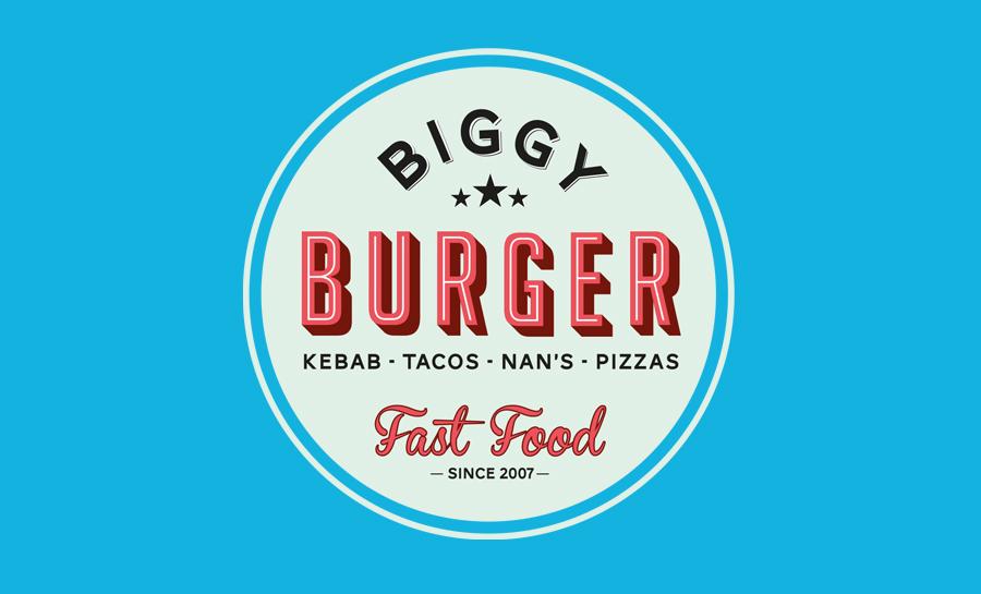 Modification d'un bâtiment industriel en franchise de restaurant Biggy burger